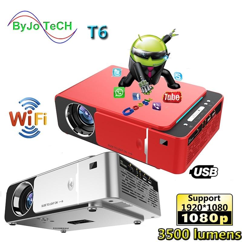 UNIC-Proyector LED T6 Full HD, 1080P, 3500 lúmenes, para cine en casa,...