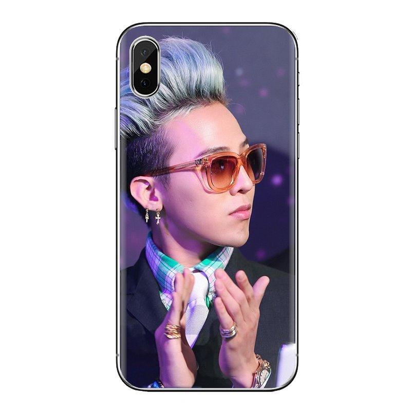 For Samsung Galaxy S3 S4 S5 Mini S6 S7 Edge S8 S9 S10 Plus Note 3 4 5 8 9 K-POP Bigbang G-Dragon Soft Transparent Cases Covers