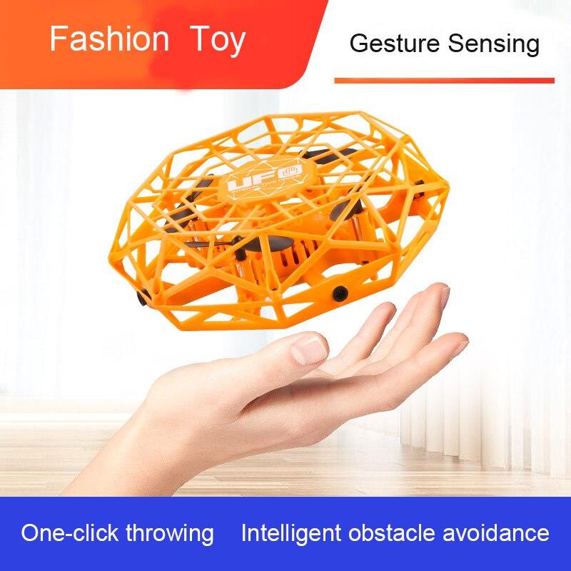 Mini Fliegen Hubschrauber UFO RC Drone 360 ° Rotierenden Smart Mini UFO Drohne für Kinder Fliegen Spielzeug Beste Für Kind geburtstag Weihnachten Gfit