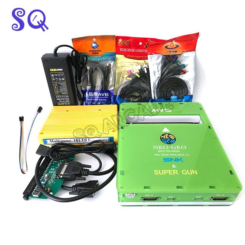 لوحة ألعاب أركيد 161 في 1 CBOX ، MVS ، SNK ، NEOGEO ، CMVS ، اللوحة الأم ، محول Jamma ، USB ، SS ، SNK ، وحدة تحكم ، واجهة Joypad ، Arcade SQ