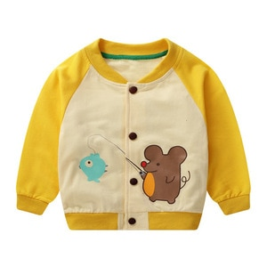 Spring Autumn Toddler Girls Coat Jacket Casual Baby Boys Coat Kids Outerwear Newborn Infant Clothes Sport Children Clothing