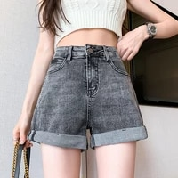 mini jeans women plus size high waist wide leg beach sexy cycling shorts summer wardrobe essential ladies chlothes 25 32