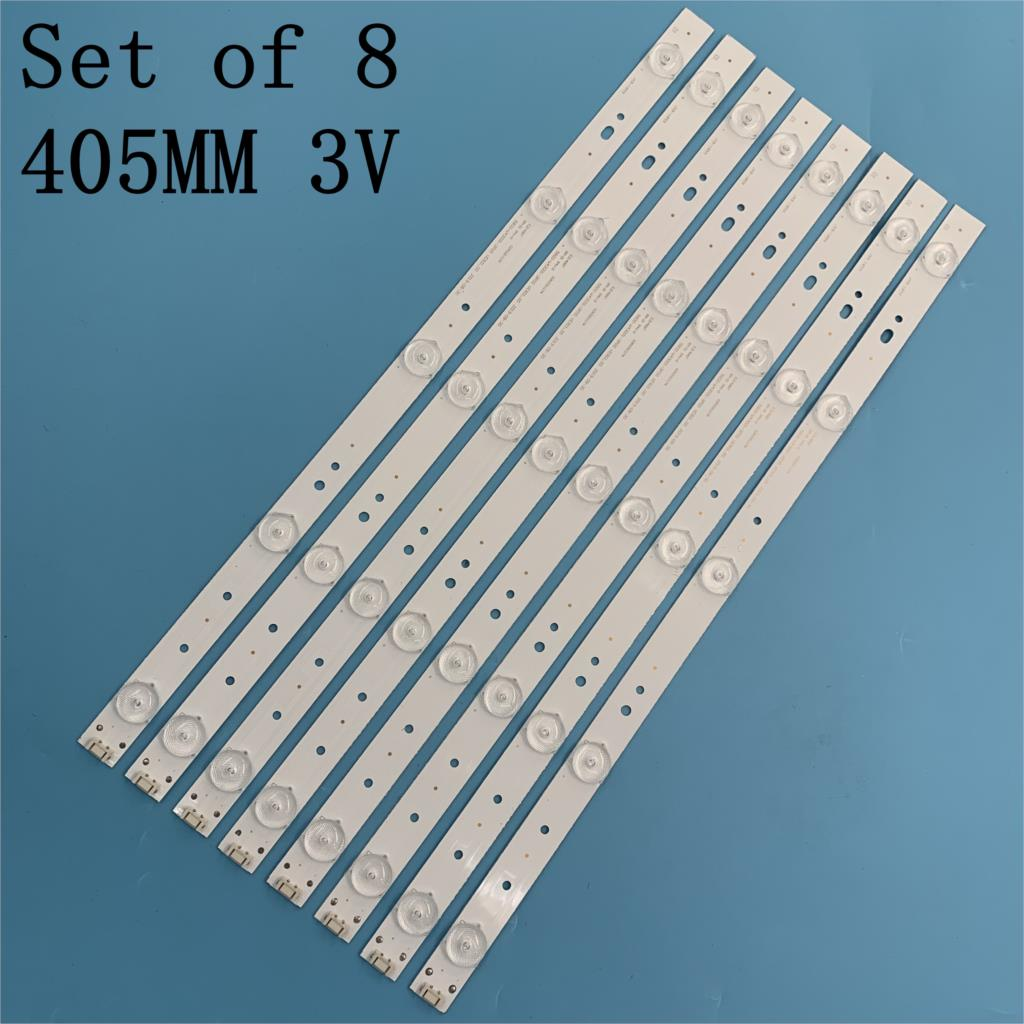 Nova fita de luz de fundo de led 43e3000 43e3500 43e6000 e465853 com tamanhos diferentes