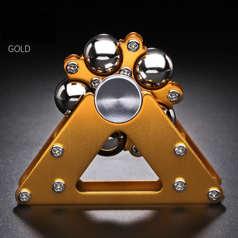 1pcs Metal Fidget Spinner Antistress Hand Adult Toys Stress Reliever Toys Gyroscope Desktop for Children Gyro Stress Toy Gifts enlarge