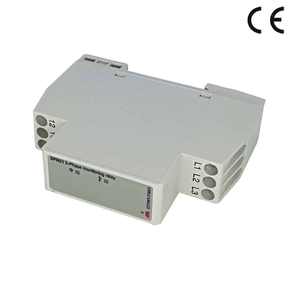 Phase sequence protector three successive electrical appliances DPA51CM44 power supply protection relay free shipping geya grv8 04 three phase voltage control relay phase sequence phase failure over voltage undervoltage protection