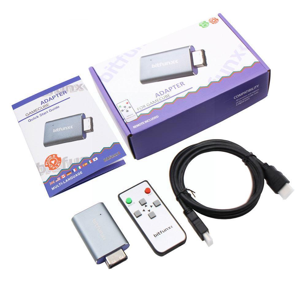 For Nintendo Gamecube NGC HDMI-Compatible HD Metal Printing Adapter Digital Non Cable Converter 3D M0B3 enlarge