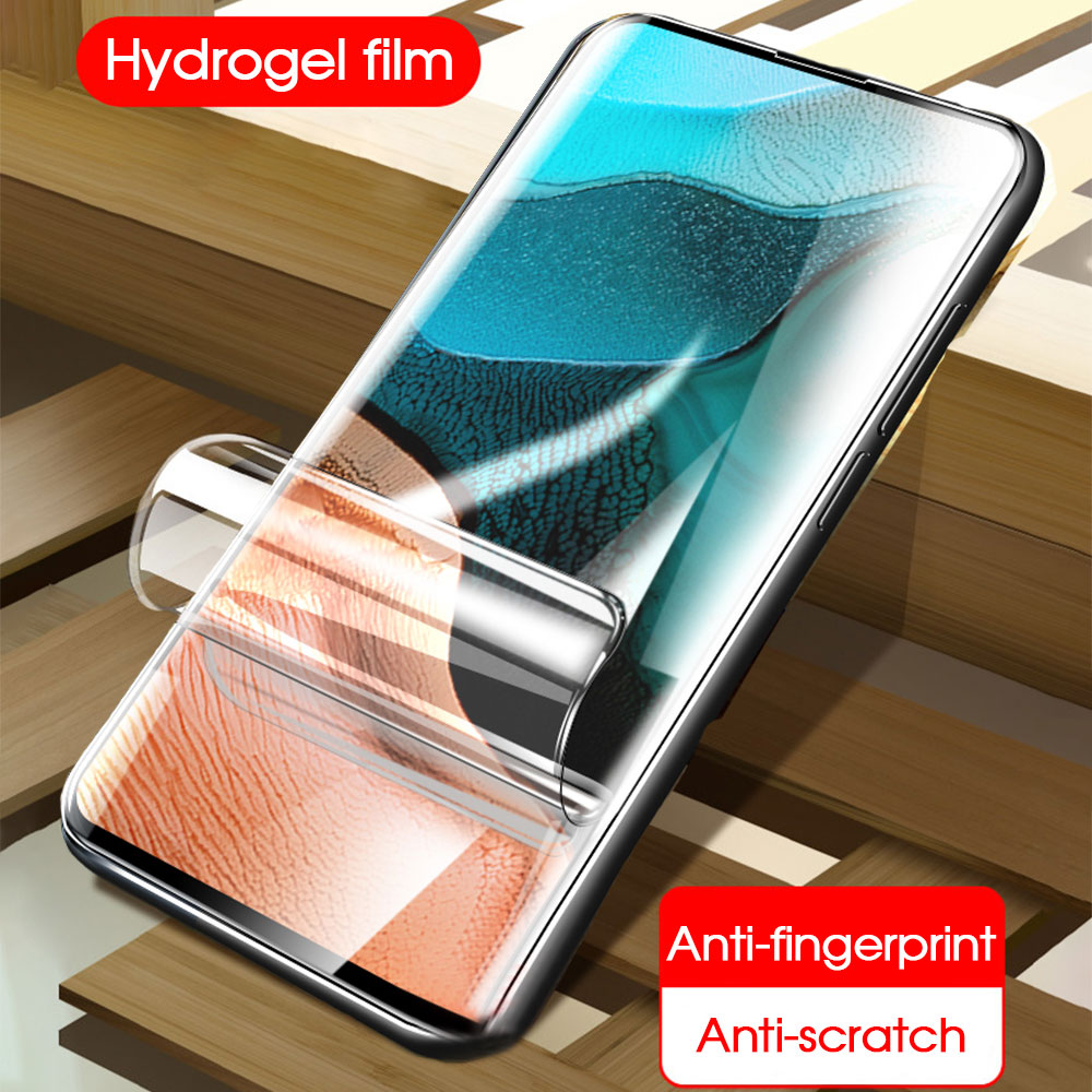 Película de hidrogel suave para Xiaomi Redmi K30 K20 K 20 30 Pro 10X 10 x Pro 5g Protector de pantalla K 30pro película protectora no de vidrio