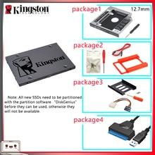 Oryginalny Kingston SSD жесткий диск 120 gb SATS 3 HDD 2.5 cala Disco Duro ssd z Hdd Caddy/Optibay lub Adapter do komputera Laptop