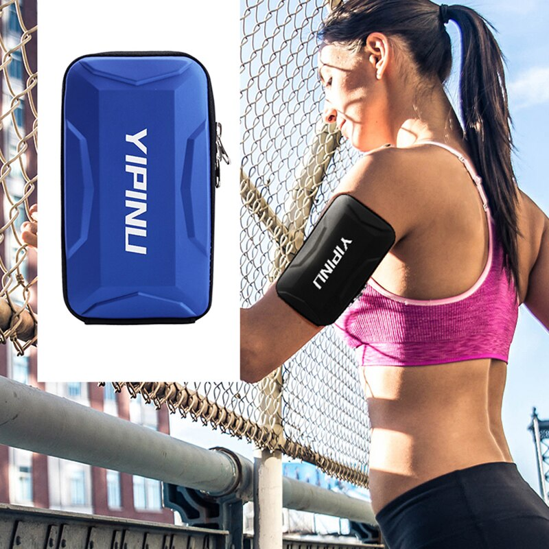 Waterproof Outdoor Sports Running Bag On Hands Armband Mobile Phone Pouch GYM Belt Men Women Zipper Bags Fitness Accessories