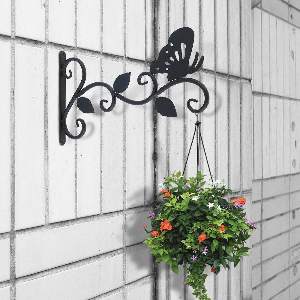 Gancho de soporte para maceta de flor para colgar en pared, soporte...