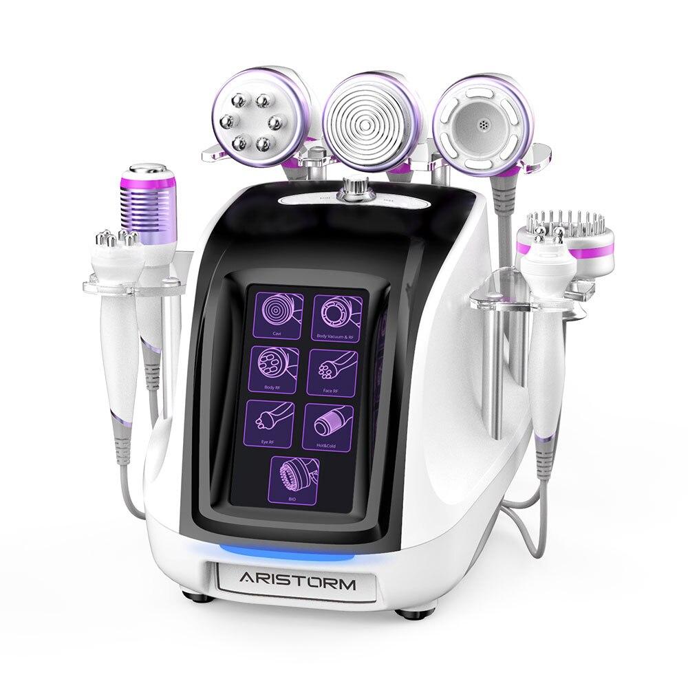 الأفضل مبيعًا جهاز تجميل لشد الجلد بتردد ترددات الراديو بقدرة 40K بالمطرقة الحيوية الباردة والساخنة