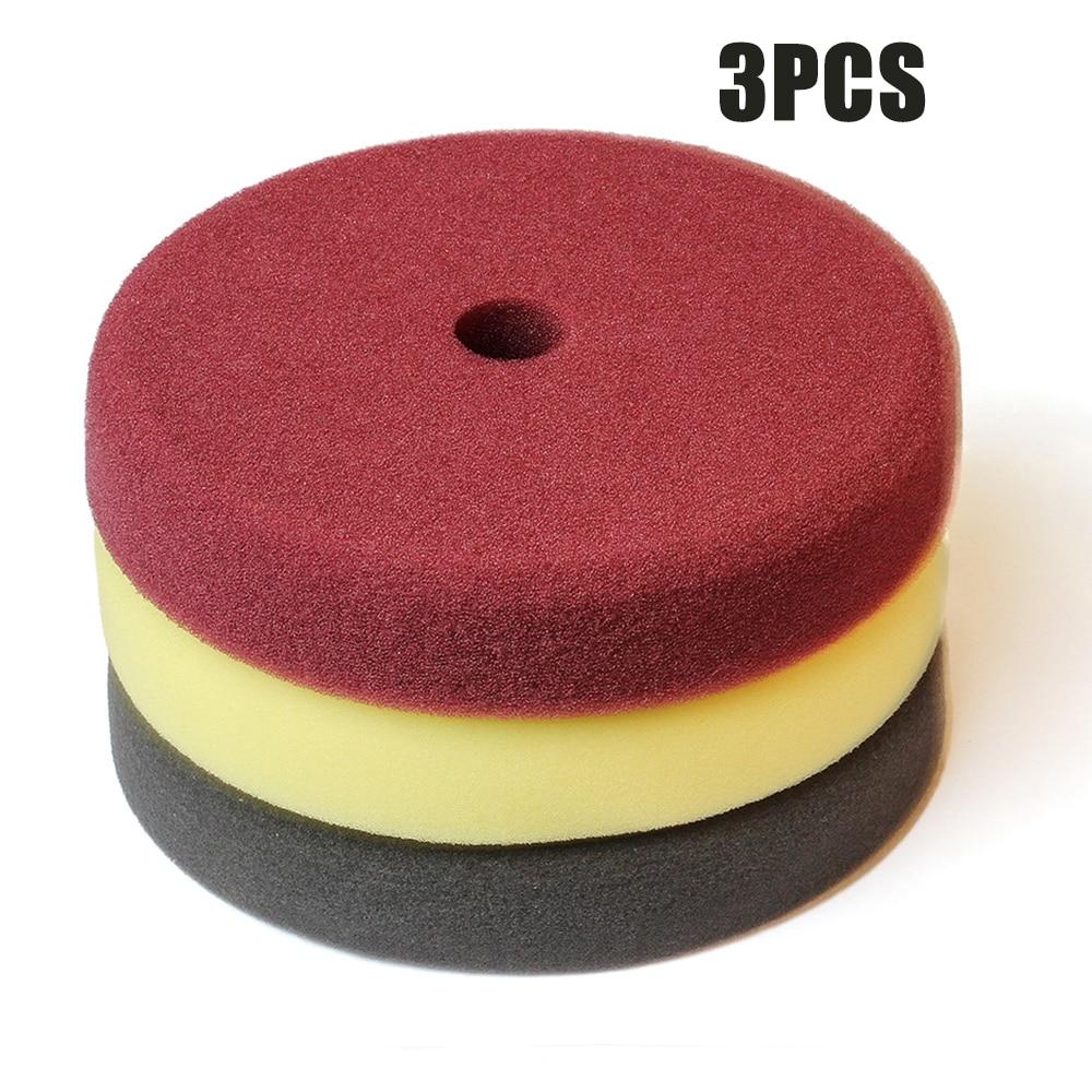 3 шт., автомобильные полировальные диски, 7 дюймов