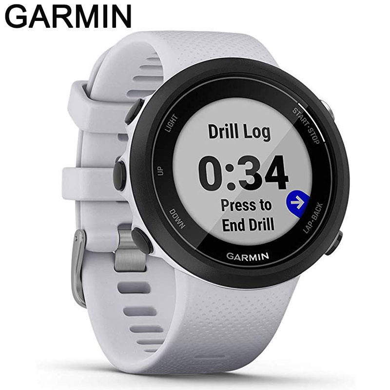Promo original Garmin Swim 2 GPS Swimming Smart watch for Pool and Open Water, Underwater Heart Rate, Records Distance,Pace,for xiaomi