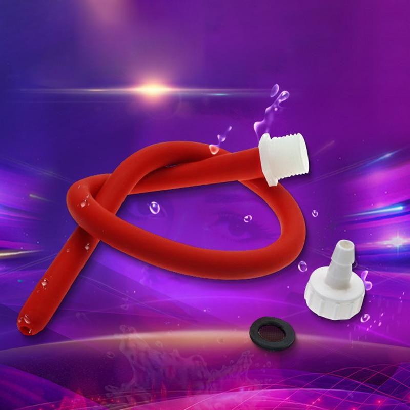Anal Wash Bidet 50/100/150cm Cleaner Enema Nozzle Washing Anal Cleaning Shower Douche Anal Shower Tube Bidet Soft Hose