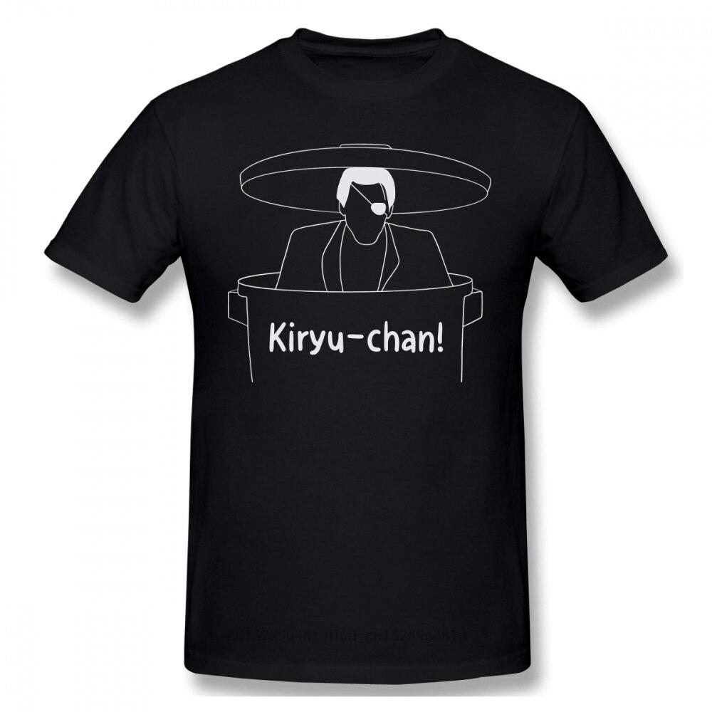 Majima Overal T-shirt Populaire Mannen Zwart Yakuza Kiwami Kazuma Kiryu Yumi Game Gedrukt Zomer Grote Tshirts Katoenen Tops