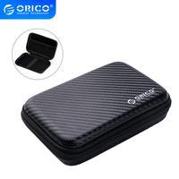 ORICO 2.5 דיסק קשיח מקרה נייד HDD תיק הגנה חיצוני 2.5 אינץ כונן קשיח/אוזניות/U דיסק דיסק קשיח כונן מקרה שחור