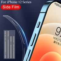 transparent hydrogel film for apple iphone 12 pro max phone side film iphone 12 mini ultra thin border protective film not glass