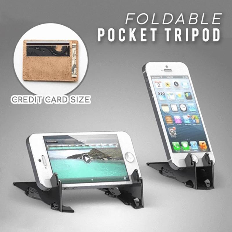 aliexpress.com - 1Pc Explosive Foldable Rotating Card Pocket Tripod Plastic Universal Mobile Phone Holder