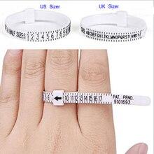 UK USA British American European Standard Size Measurement Belt Bracelet Rings Sizer  Ring Finger Si
