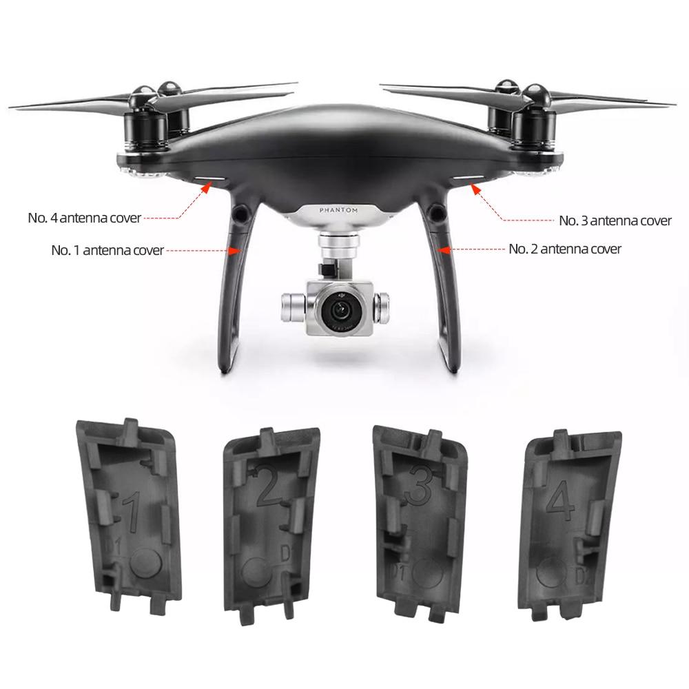 Оригинальные брендовые Новые запасные части крышка для шасси антенны для DJI Phantom 4 Pro Dark Night Version аксессуары для дрона
