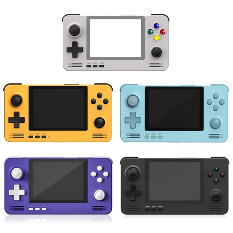 Retroid Pocket 2 Retro Pocket Handheld Game Console 3.5 Inch IPS Screen Double System Open Source 3D Games for PSP