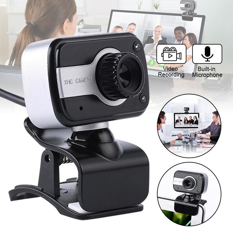 Alta calidad USB 2,0 HD Webcam escritorio portátil vídeo de PC cámara de llamada ajustable con micrófono N66