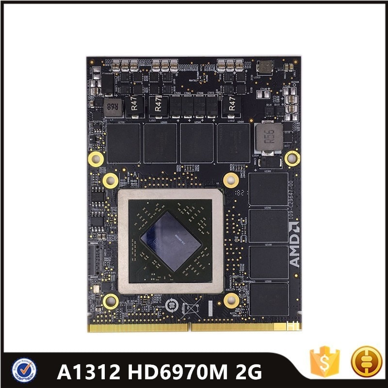 HD6970 HD6970M HD 6970M 2GB بطاقة الفيديو ل iMac 27