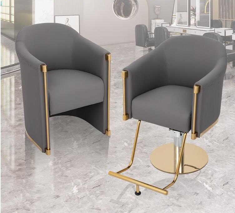 Стул парикмахерский в стиле интернет-знаменитостей простой современный стул для стрижки волос специальный высококачественный стул для ст...