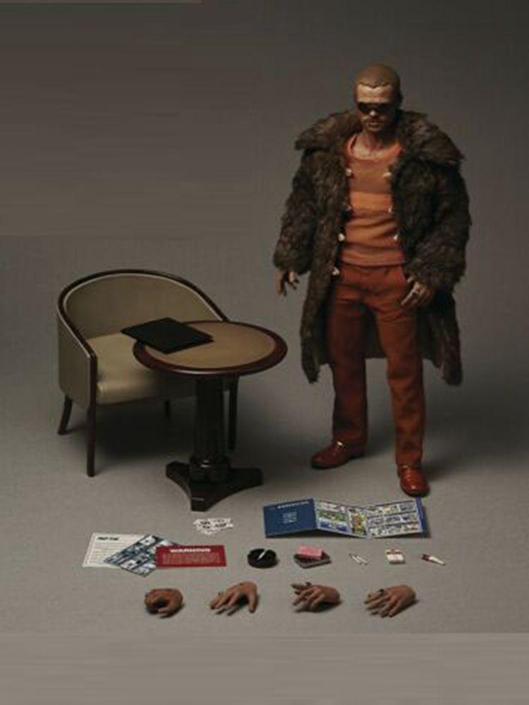 BLITZWAY BW-FC00325 1/6 Brad Pitt manteau de fourrure Ver. Figurine 12 ensemble complet modèle F Collection