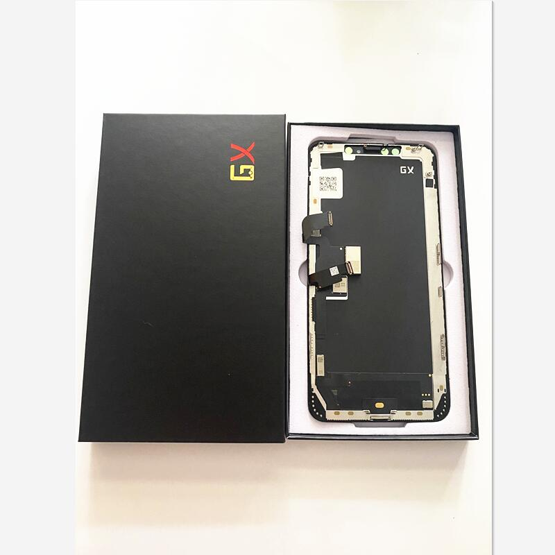 Grade AAA GX OLED For iPhone X XS XsMax 11Pro LCD Display Touch Screen Digitizer Assembly Tested No Dead Pixel Replacement LCD enlarge
