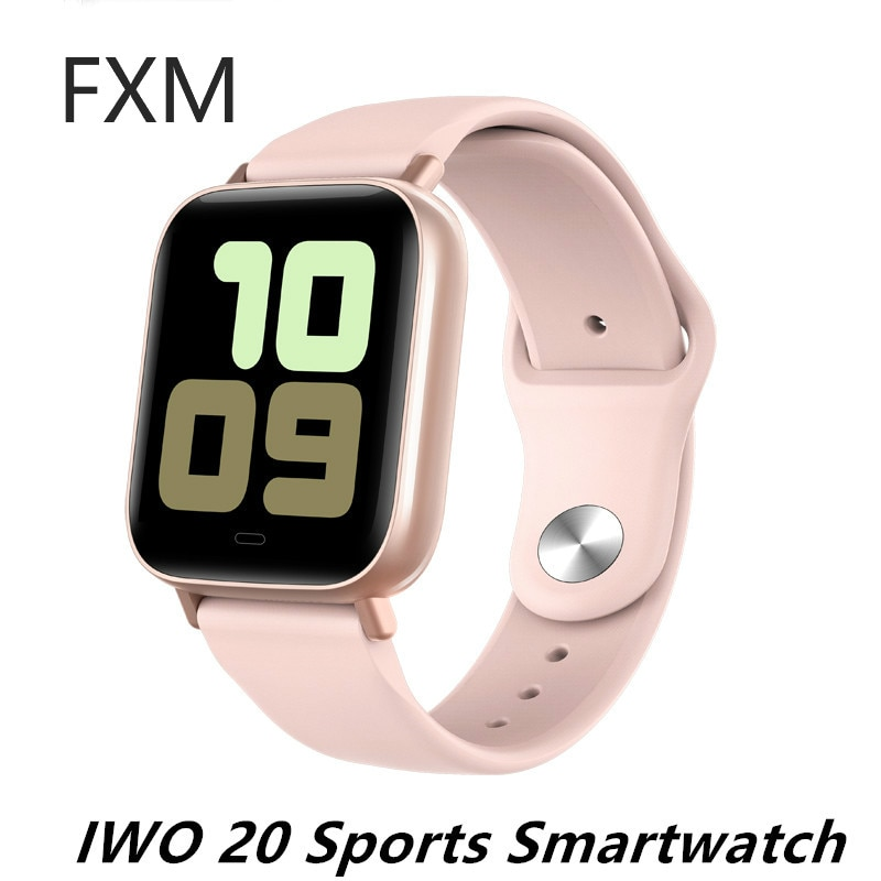Hot New IWO 20 Heart Rate Smart Watch IP67 Waterproof Swimming Blood Pressure Fitness Tracker G20 Smartwatch Sports Wristband