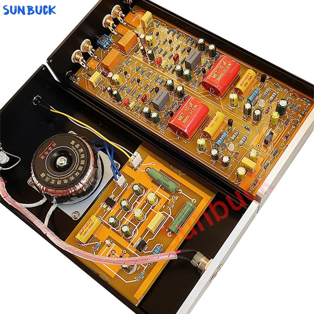 Sunbuck سبليت مم MC فونو Preamp المزدوج فونو Preamplifier مناسبة ل مشغل تسجيلات من الفينيل
