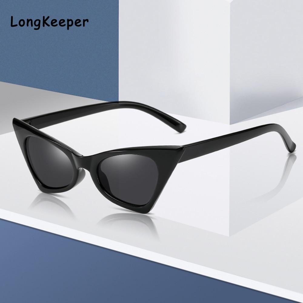Маленькие треугольные солнцезащитные очки кошачий глаз женские Винтажные Солнцезащитные очки Ретро брендовые дизайнерские солнцезащитны...
