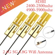 8DBI 2,4G 5G 5,8G WIFI gebaut in PCB antenne Wifi antenne IPEX interface dual band omnidirecational IPEX/U.FL stecker