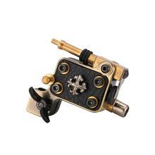 Connecteur de RCA de cadre dalliage daluminium de moteur du japon de mitrailleuse rotatoire de tatouage