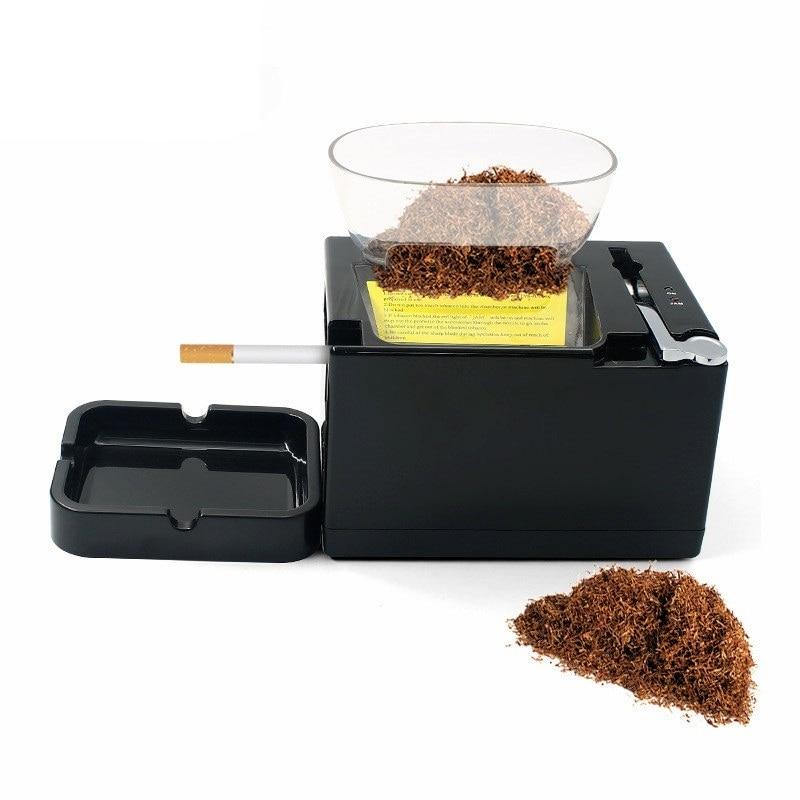 6.5mm Slim Tube Electirc Cigarette Wrapping Machine 220V EU-Plug High Speed Automatic Tobacco Maker Smoking Tool Men's Gadgets