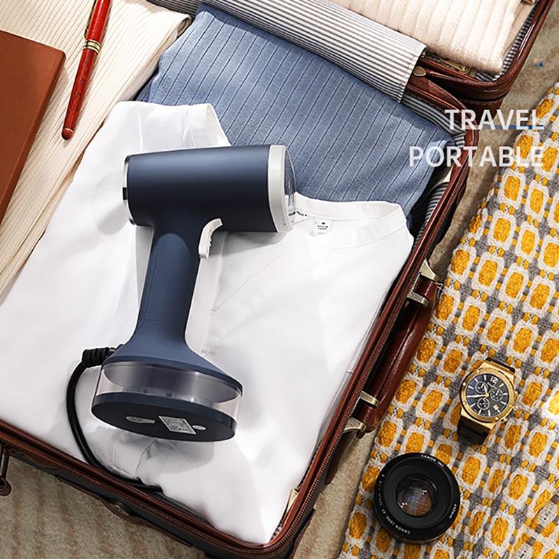 KONKA Mini المحمولة الرئيسية السفر مولد البخار الكهربائي البخار الحديد 1200 واط آلة تنظيف الملابس بالبخار 140 مللي الملابس باخرة المحمولة