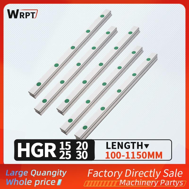 شحن مجاني 100 مللي متر-1150 مللي متر HGR15 HGR20 HGR25 HGR30 مربع الخطي دليل ل النقش HIWIN المنزلق قوس نك آلة الحفر