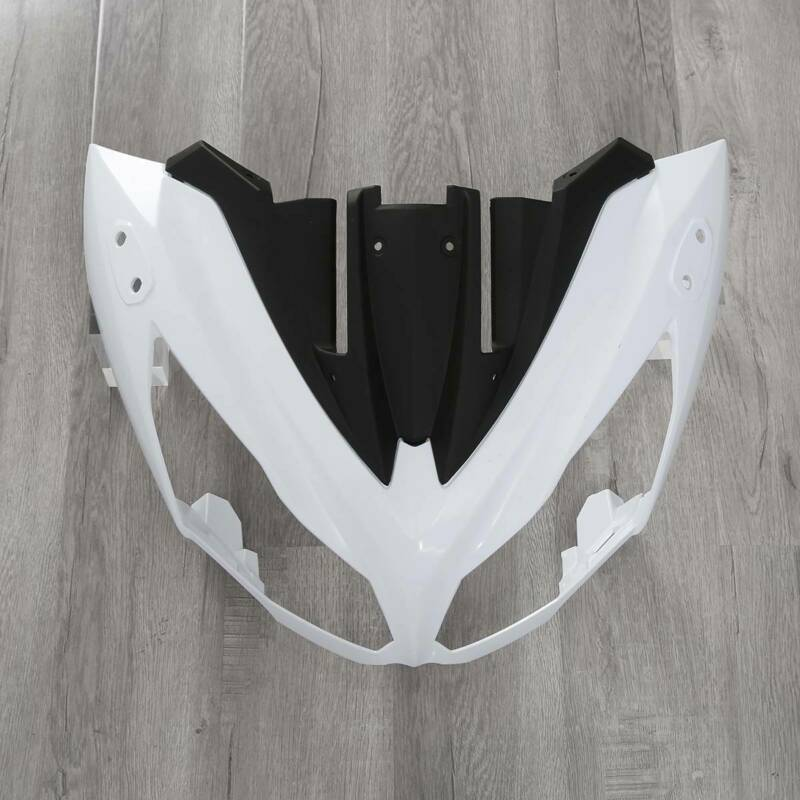 Carenado superior de la nariz delantera del ABS de la motocicleta para Kawasaki Ninja 650 EX650 ER6F 2012-2015 2014 4A