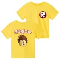 summer robloxing anime cotton clothes short sleeved birthday shirt creeper cosplay t shirt fashion children boy girl t shirt
