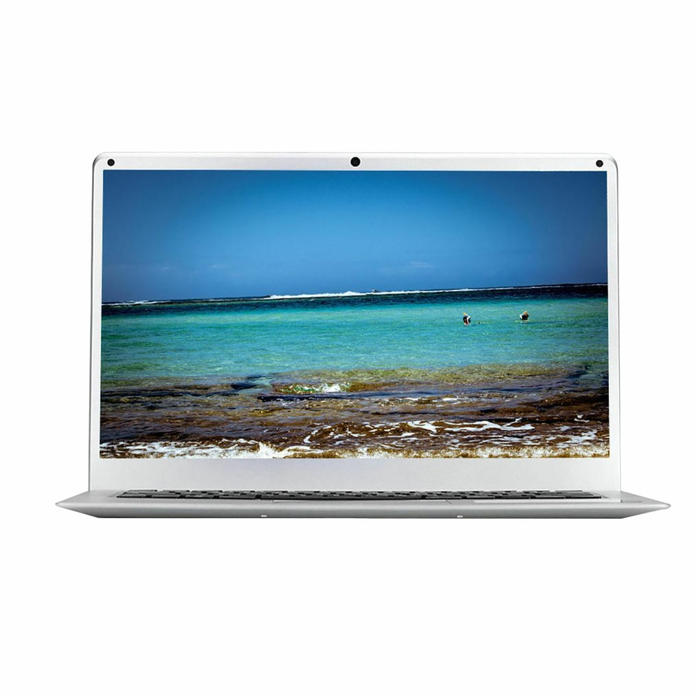 14 Inches High Definition Screen Laptop 16 : 9 Ultra-Thin Portable Computer 1.3MP Camera 10000mah Battery For Windows 10