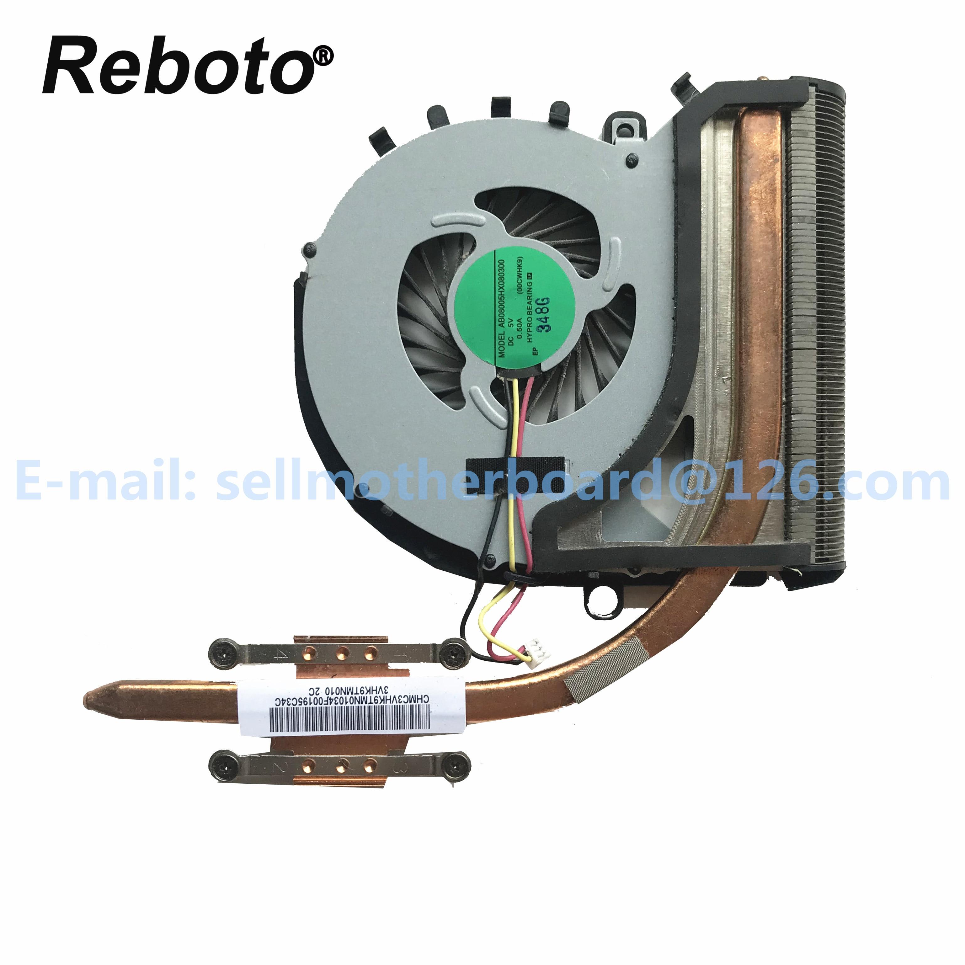 Reboto Für SONY VAIO SVF152 Serie Laptop Kühler Kühler Kühlkörper Mit LÜFTER P/N 3VHK9TMN01 0 100% Getestet Schnelle schiff
