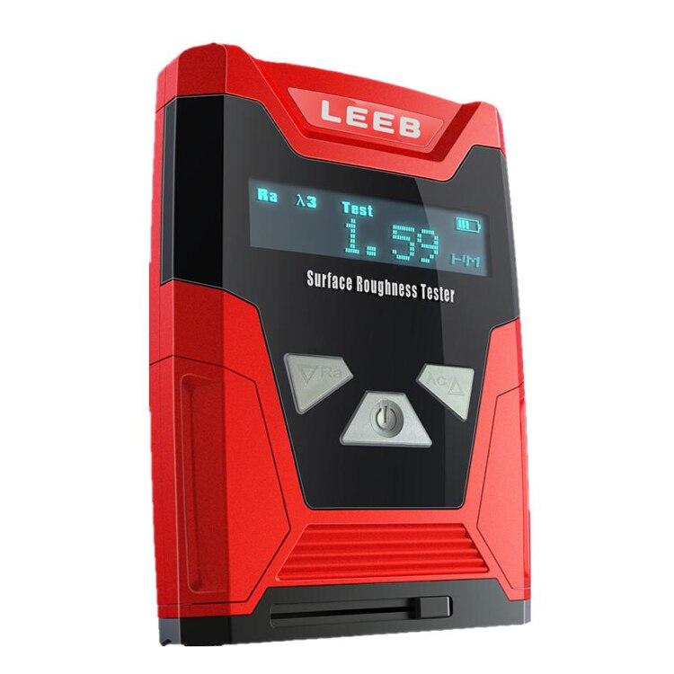 Leeb410 أداة قياس خشونة الأسطح متر مقياس الدقة مع 4 معلمات معلمة خشونة Ra Rz Rq Rt القرار 0.01um