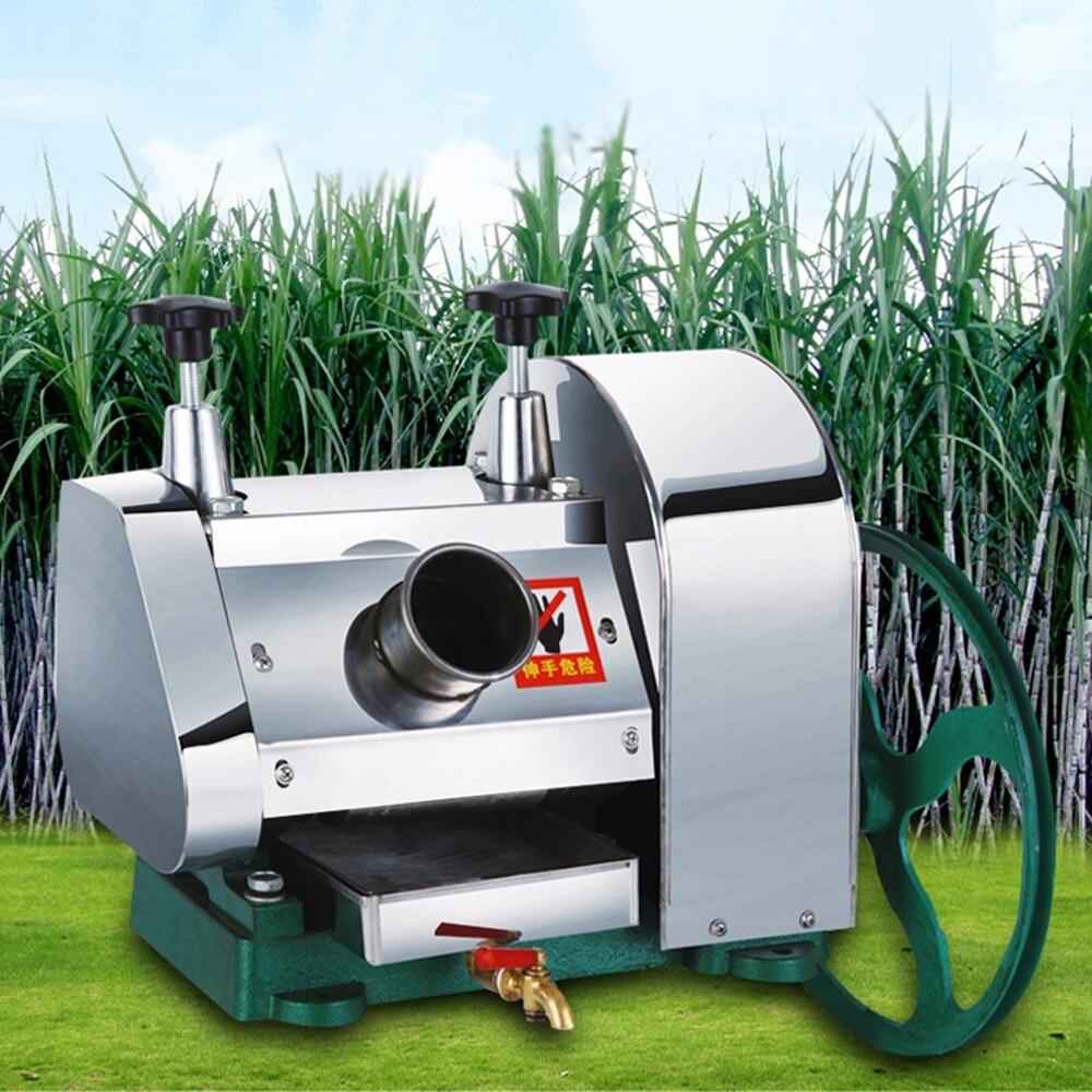 جديد دليل الفولاذ المقاوم للصدأ متعددة الوظائف التجارية آلة عصير قصب السكر قصب السكر مستخرج العصير عصارة عصارة