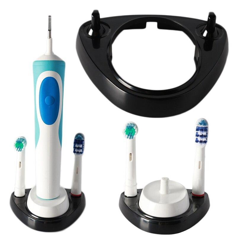 Base de cepillo de dientes eléctrico blanco, soporte de cabeza de cepillo para Braun Oral B, cepillos de dientes eléctricos, utensilios para el baño