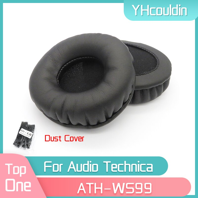 YHcouldin Earpads For Audio Technica ATH-WS99 ATH WS99 Headphone Replacement Pads Headset Ear Cushions yhcouldin ear pads for audio technica ath ws550 ath ws550is headphone replacement earpads ear cushions