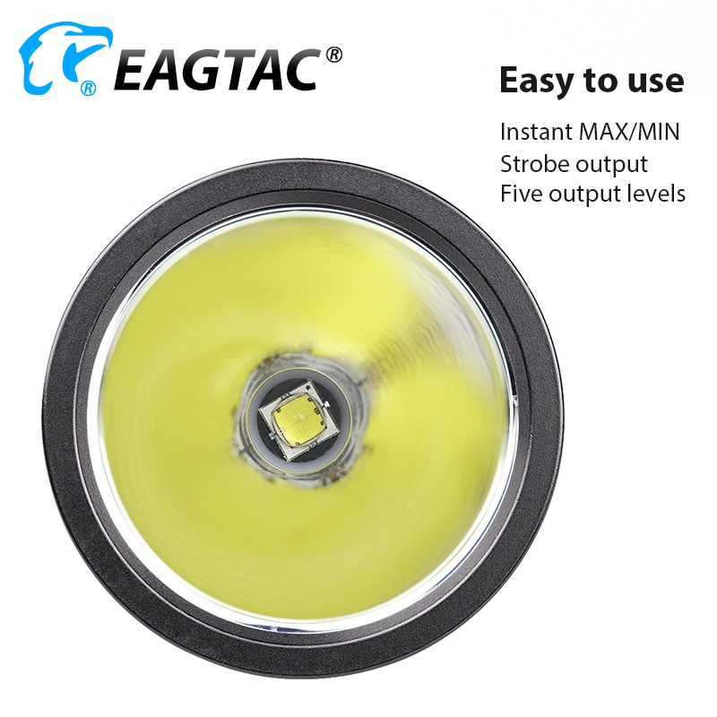 NEW EAGTAC GX30L2R MKII SST70 3100 Lumen Rechargeable LED Duty Flashlight for Police Hunting Battery Pack Included enlarge