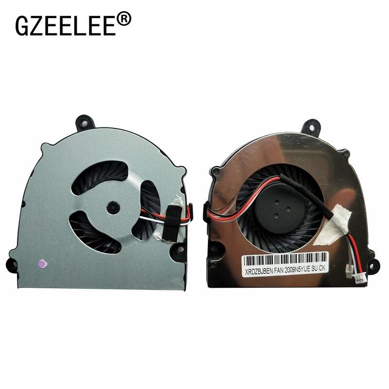 Gzeele novo ventilador de refrigeração da cpu para clevo w110 w110er para hasee k570n K570N-i5 d1-i3 d1 w650eh computador portátil cpu cooler notebook