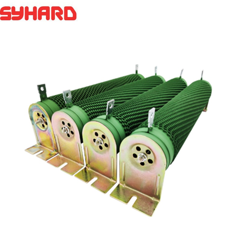 Resistência ondulada do resistor de travagem de alta potência para o inversor 500w1000rj75 da frequência do vetor da máquina-ferramenta do cnc