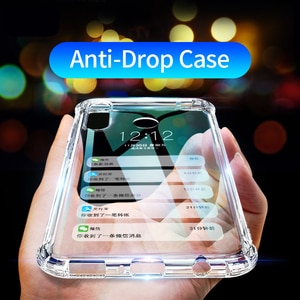 Protective Clear Case For Apple iPhone 11 Pro Max X XS XR 7 8 Plus 6 6S SE 2 2020 Transparent Shockproof Hard Plastic Back Cover